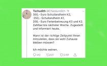 Tweet verschafft alleinerziehender Mutter 17.000 Euro