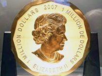 Diebstahl von Riesenmünze: Anklage steht bevor