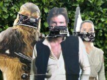 Maskenpflicht: Von Jedi-Rittern und Superhelden